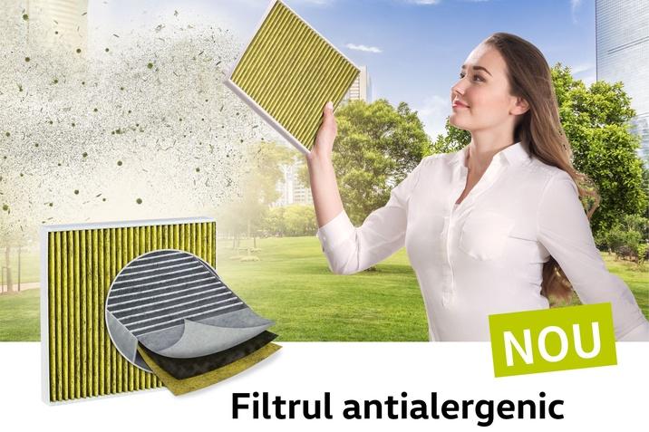 filtrul anti-alergic